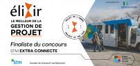 Recognition in project management: STM named finalist in PMI-Montréal Élixir contest