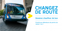 Recruitment campaign : The STM seeks 200 new bus drivers