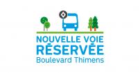 La STM annonce la mise en service de mesures préférentielles pour bus, taxis et vélos sur le boulevard Thimens